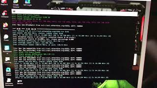 MSI RX 5700 XT GAMING X - Ethereum Mining @64.3 MH/s using Phoenixminer (No-OC)