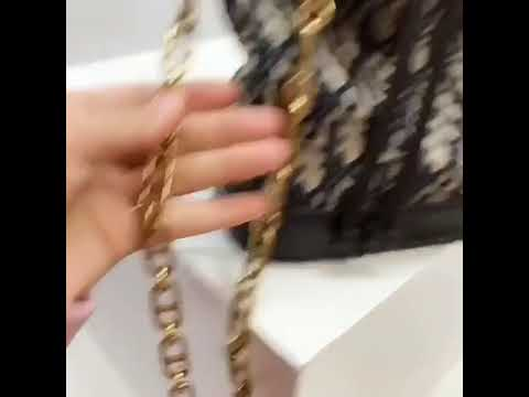✤寵愛Pamper for you✤Saddle Dior Oblique帆布水桶包