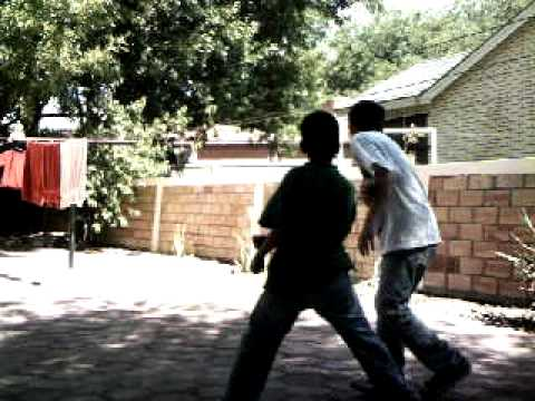 my cousin fighting