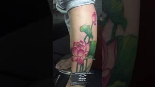 Hình Xăm Hoa Sen tại Đỗ Nhân Tatttoo