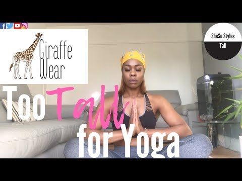 yoga-challenge-for-tall-women-&-tall-girls-|-yoga-pants-workout-|-clothing-try-on-haul-giraffewear