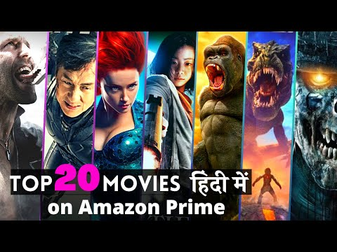 """Top 20 Hollywood """"Best Hindi Dubbed Movies""""on AMAZON PRIME in 2020 