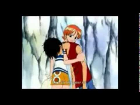 Luffy x Nami, les meilleurs moments - YouTube