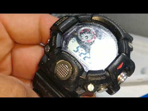Casio G-Shock Rangeman restoration