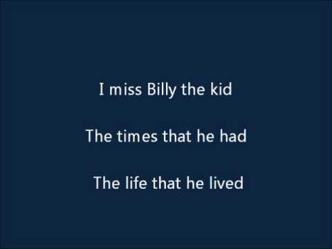 Billy Dean - Billy The Kid (lyrics)