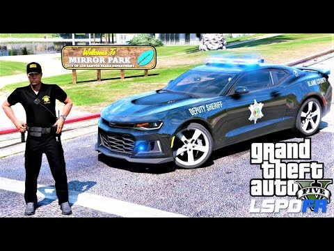 GTA 5 LSPDFR #656 Richland County Chevy Camaro Cat Team - LivePD Special Patrol