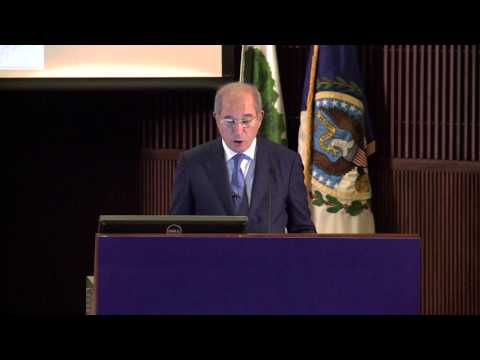 H.E. Ahmet Üzümcü ,OPCW Director-General speaks on chemical weapons in Syria