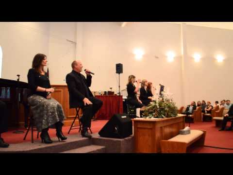 The Crist Family sings The Anchor Holds