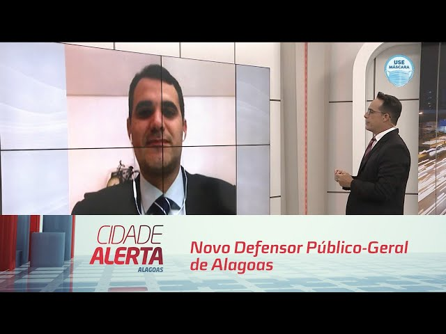 Novo Defensor Público-Geral de Alagoas fala pela primeira vez