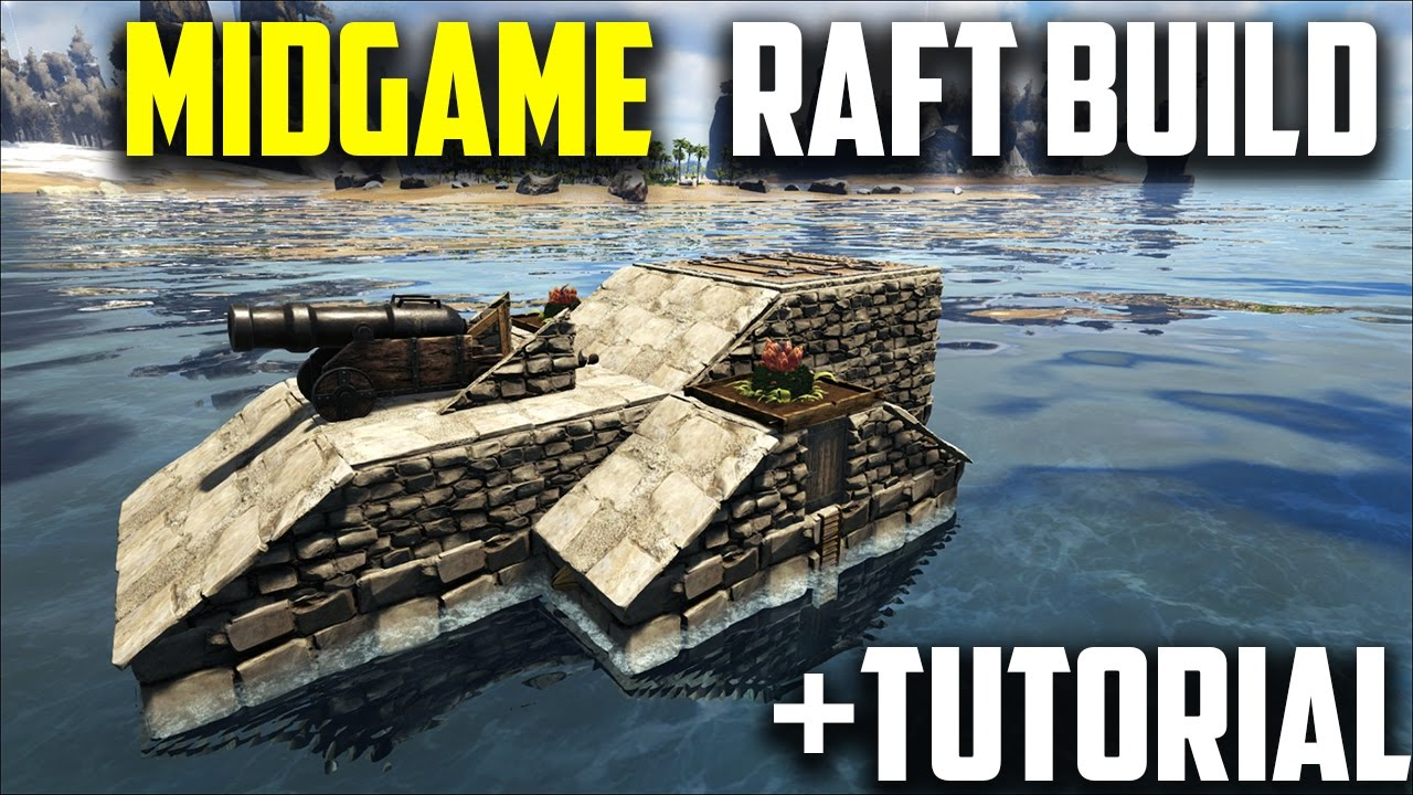 ARK Raft Build & Tutorial - Great Solo Player Build