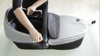 mima xari and kobi - Baby Stage - How to convert your seat unit into a carrycot