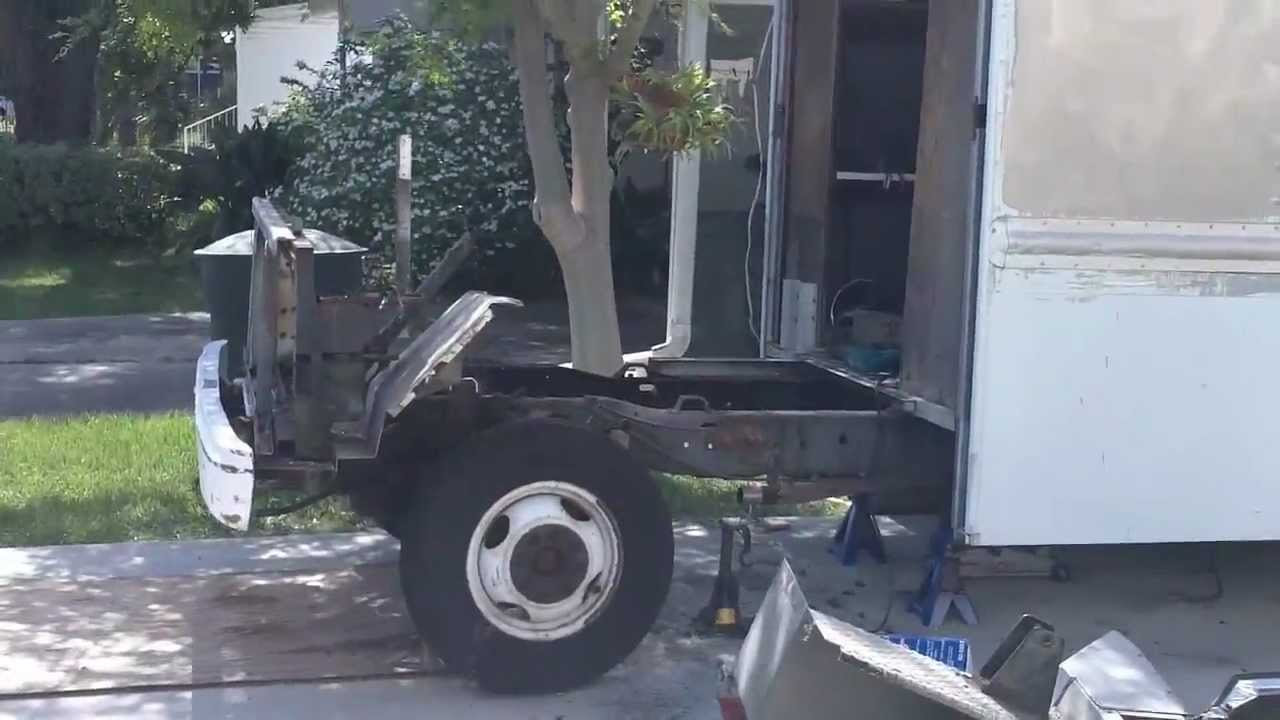 Step Van To Trailer Conversion Phase2 Youtube
