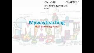 math class 8 chapter 1 part i rational numbers  rational numbers for class 8 what is rational number