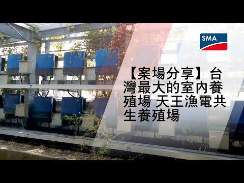 【案場分享】台灣最大的室內養殖場 天王漁電共生養殖場