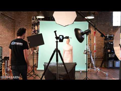 Phlearn Photoshoot Behind the Scenes: Liquid Portrait