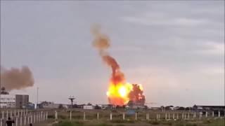 【ロケットが墜落し町を消滅させた事故映像】背筋が凍る大規模ロケット事故22連発 中国の小さな町を消滅させた世紀の大事故映像 thumbnail