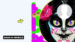 Tommy vs Savages! (Agar.io Mobile Gameplay!)