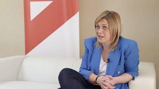 La coordinadora de Cs en C-LM, Carmen Picazo, en entrevista con Europa Press