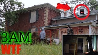 SNEAKING INTO A DEMON HAUNTED HOUSE AT 3AM (WTF) (We found this...)