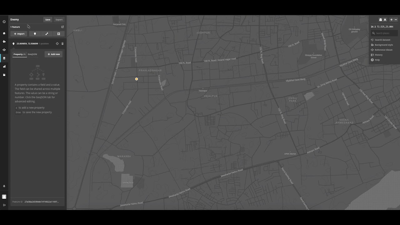 Add custom dataset points to Mapbox map and integrate them in Unity