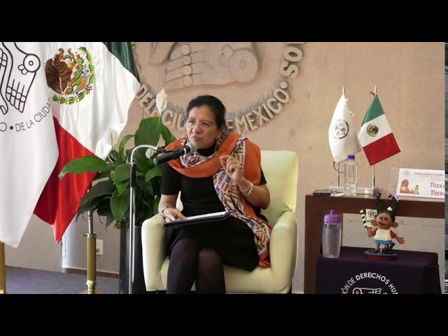 Discurso Ombudsperson capitalina en resultados de Infancias Encerradas, Tlaxcala