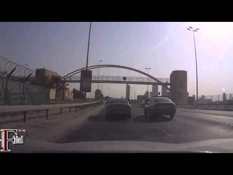جولة في مملكة البحرين   المنامة   شارع المعارض   جسر الملك فهد