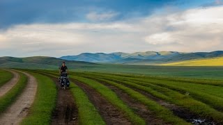 Cycling the Mongolian steppe