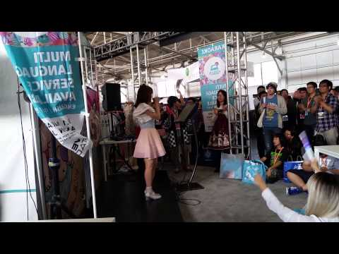 "Karaoke ""A Cruel Angel's Thesis"" @ J-Pop Summit 2015"