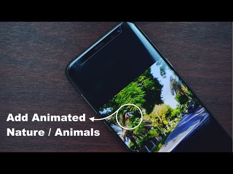 Add Animated Effects on Photos for Galaxy S8, S8+ and Note 8