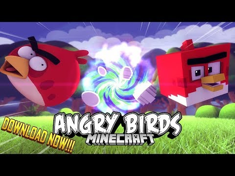 Angry Birds Minecraft The Game !!?!?! [ +Free Download ] ( Angry Birds / Minecraft Animation )