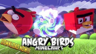 If Angry Birds was Minecraft [ +Free Download ]