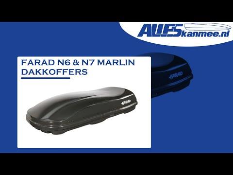 Informatie video Farad dakkoffer Marlin N7 & N6 (680 en 480 liter)