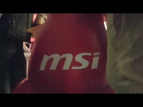 MSI Notebook Computex Press Conference