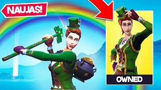 * NEW * GREEN CLOVER SKINS FORTNITE!