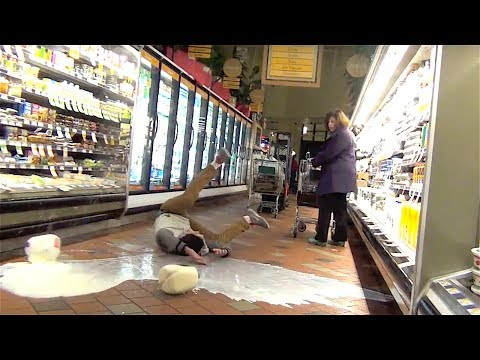 GALLON SMASHING PRANK