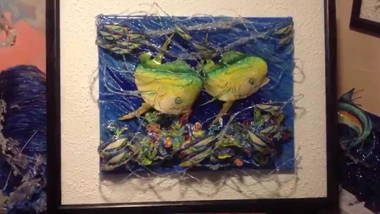 IDiazCreations.com framed 3D canvas art - YouTube