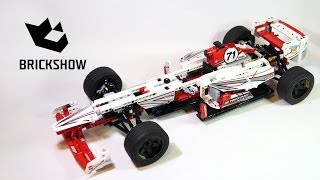 Lego Technic 42000 Grand Prix Racer - Lego Speed build