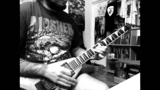 Pantera The Sleep Solo Guitar Cover By Davish G Alvarez