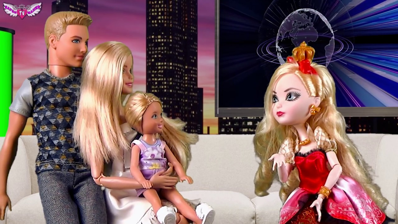 История Барби и Кен участвуют в Тв ШОУ. Приключения Барби ...