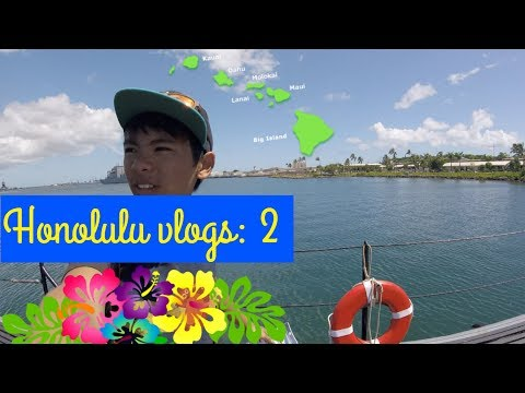USS Battleship Missouri, Honolulu, Hawaii vlog 2