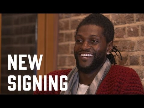 Adebayor signing interview.