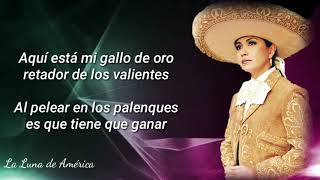 Ana Gabriel El Gallo De Oro Letra Youtube