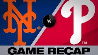 Homers, Arietta propel Phillies past Mets - 4/17/19