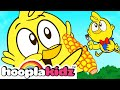 Funny Chicky Song | + More Nursery Rhymes & Baby Songs by HooplaKidz