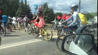 Велосипедная свадьба в Ижевске