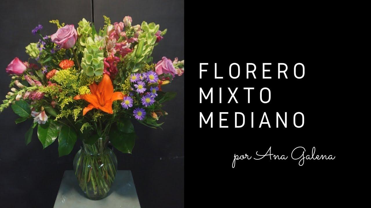 Como Hacer Un Arreglo De Flores Mixto En Florero