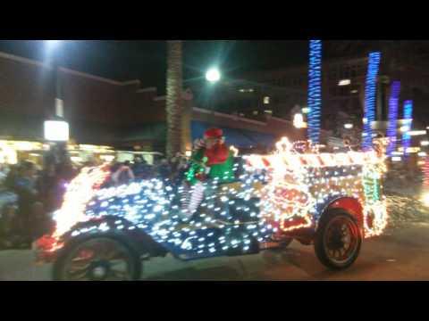 Tempe Arizona Christmas lights Parade 2015