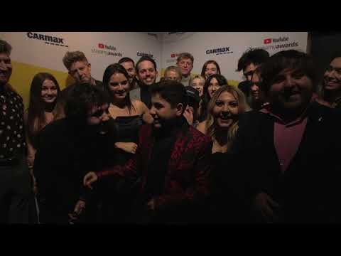 The Vlog Squad Backstage Interview I Streamy Awards 2019