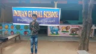 Singing competition in IGS  suryapet