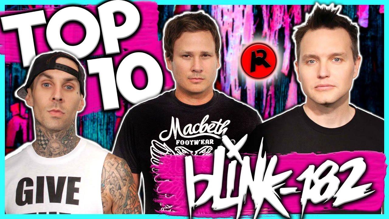 Best blink-182 Songs - Top Ten List - TheTopTens®